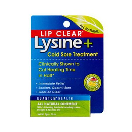 Lysine Plus Cold Sore Treatment Lip Clear Ointment By