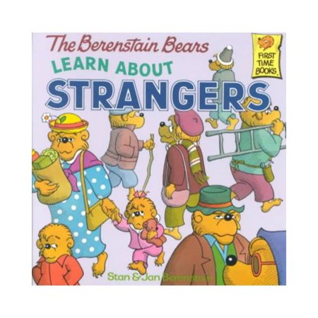The Berenstain Bears Learn About Strangers (First Time Books(R)) When Papa Bear tells the cubs why they should never talk to strangers, Sister begins to view all strangers as evil until Mama brings some common senseto the problemISBN13: 9780394873343Publisher: Random House Children's BooksPublication Year: 1985Format: PaperbackPages: 32