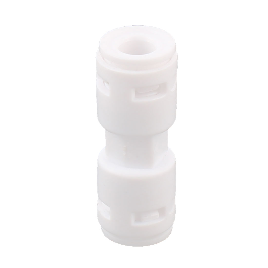 Home Use 6.5mm Inner Dia One Way Water Dispenser Quick Adapter Connector White - image 2 of 2
