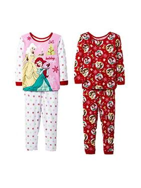 15e81bc3c4c6 Toddler Girls Pajama Sets - Walmart.com
