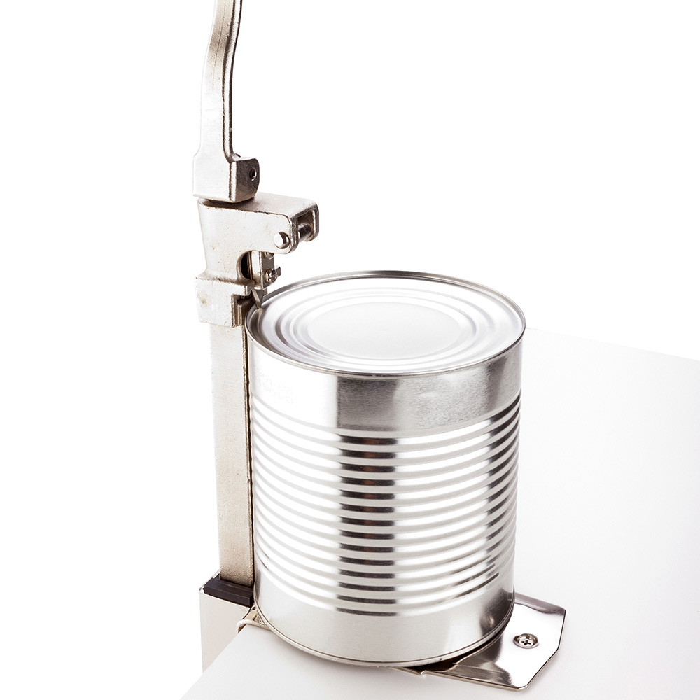 """Can Opener, Commercial Can Opener - Table Mounted - Professional Grade - 11"""" - 1ct Box - Met Lux"""