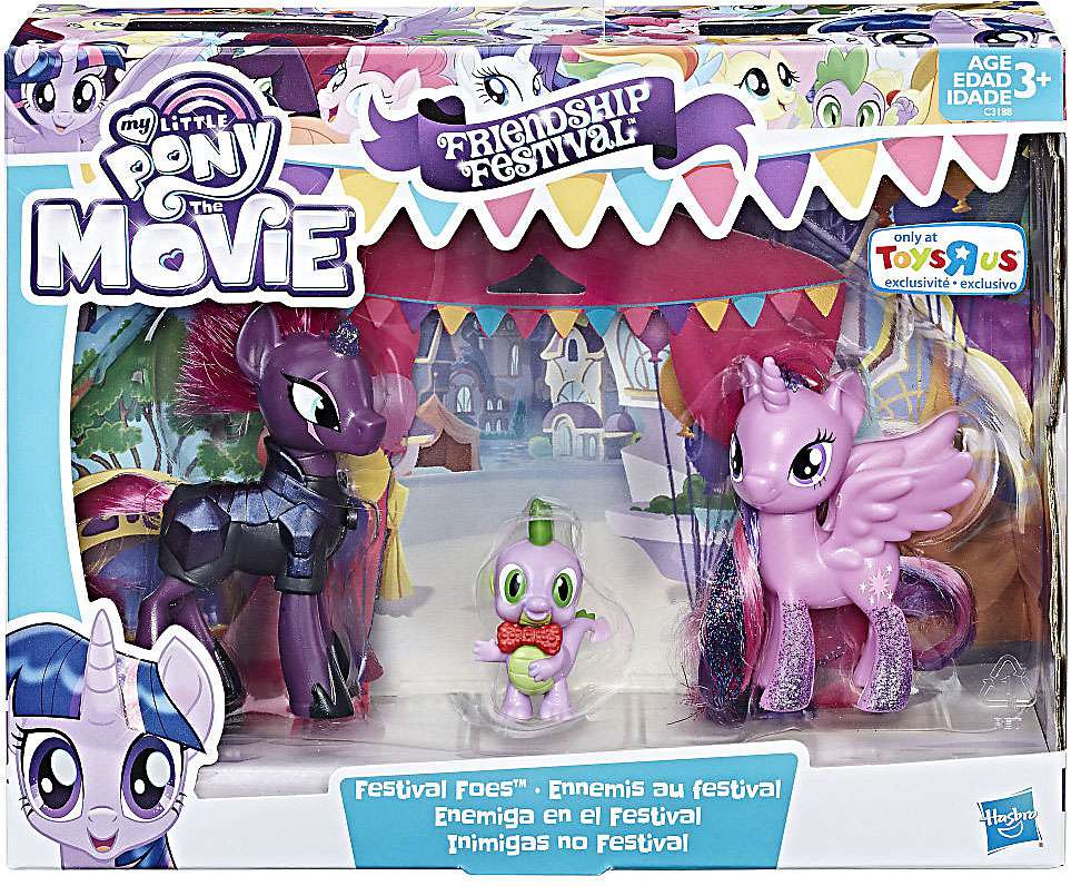 My Little Pony Friendship Festival Festival Foes Figure 3-Pack by Hasbro Toys