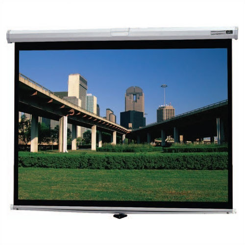 Da-Lite Deluxe Model B Matte White Manual Projection Screen