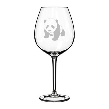 Wine Glass Goblet Baby Panda (20 oz Jumbo)](Jumbo Glasses)