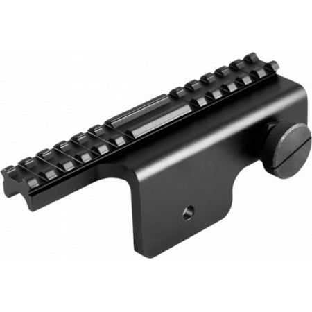 AimSports M-14/M1A Scope Mount, Black (Mini 14 Scopes)