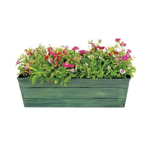 ACHLA Designs VFB-0 Galvanized Tin Window Box Planter