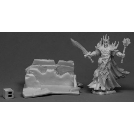 Reaper Miniatures Dust King and Crypt77535 Bones Unpainted RPG D&D