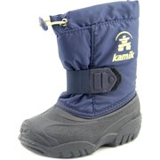 Kamik Tickle   Round Toe Synthetic  Snow Boot