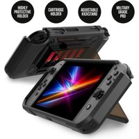 Revoguard Case With Stand for Nintendo Switch Console Hands-Free Slim Heavy Duty Cover Protector