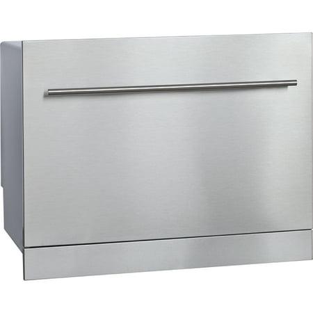 Vesta DWV335BBS Stainless Steel 120V Built-In RV Dishwasher