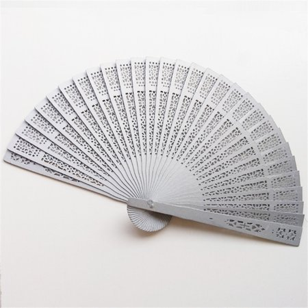 Sandalwood Fan Openwork Carved Wooden Fan Wedding Fan 20cm Scented Sandalwood Fan