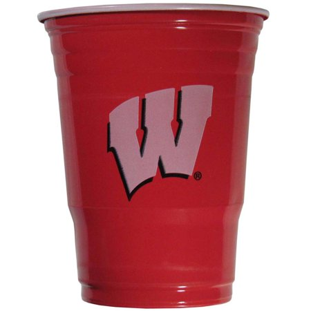 Wisconsin Badgers Plastic Game Day Cups