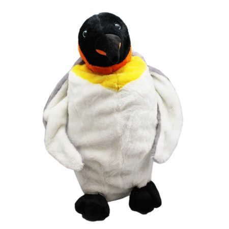 SeaWorld Adventure Parks Hollow Penguin Plush Toy w/Secret Zipper Pocket (Seaworld Halloween)