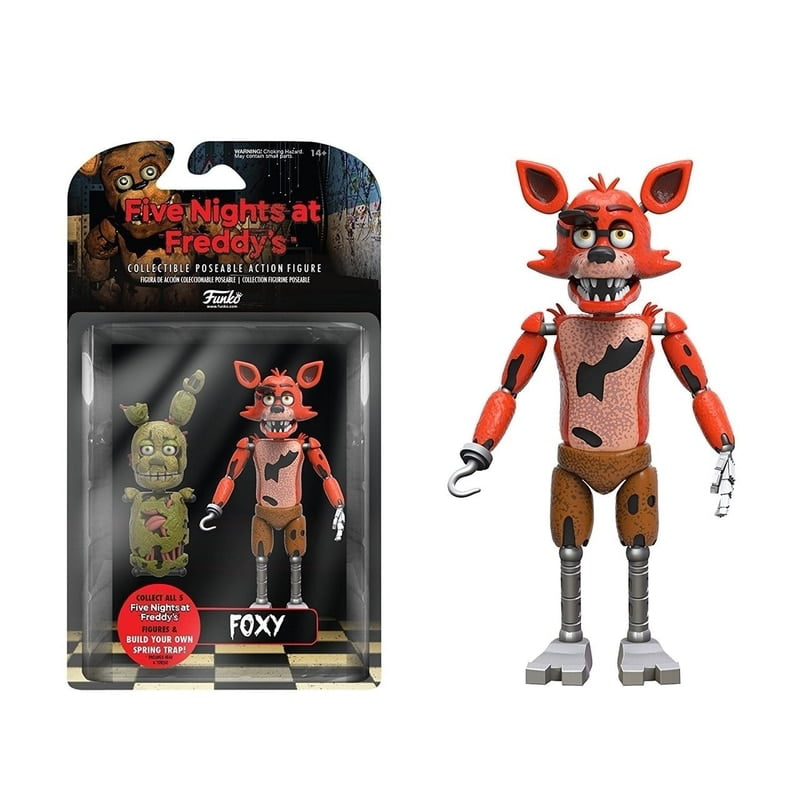 "5/"" Funko Five Nights at Freddy/'s Articulated Foxy Action Figure"