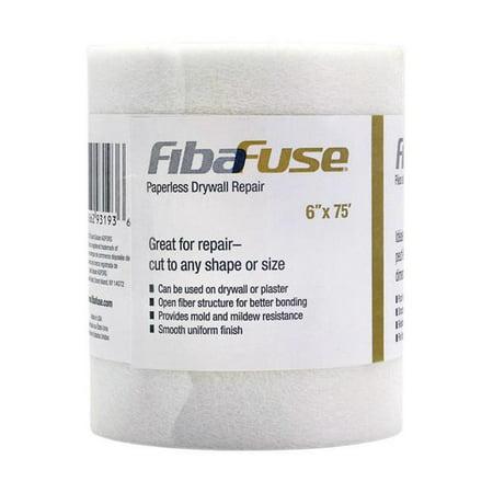 "FibaFuse FDW9018-U Paperless Drywall Joint Tape, 6"" x 75"