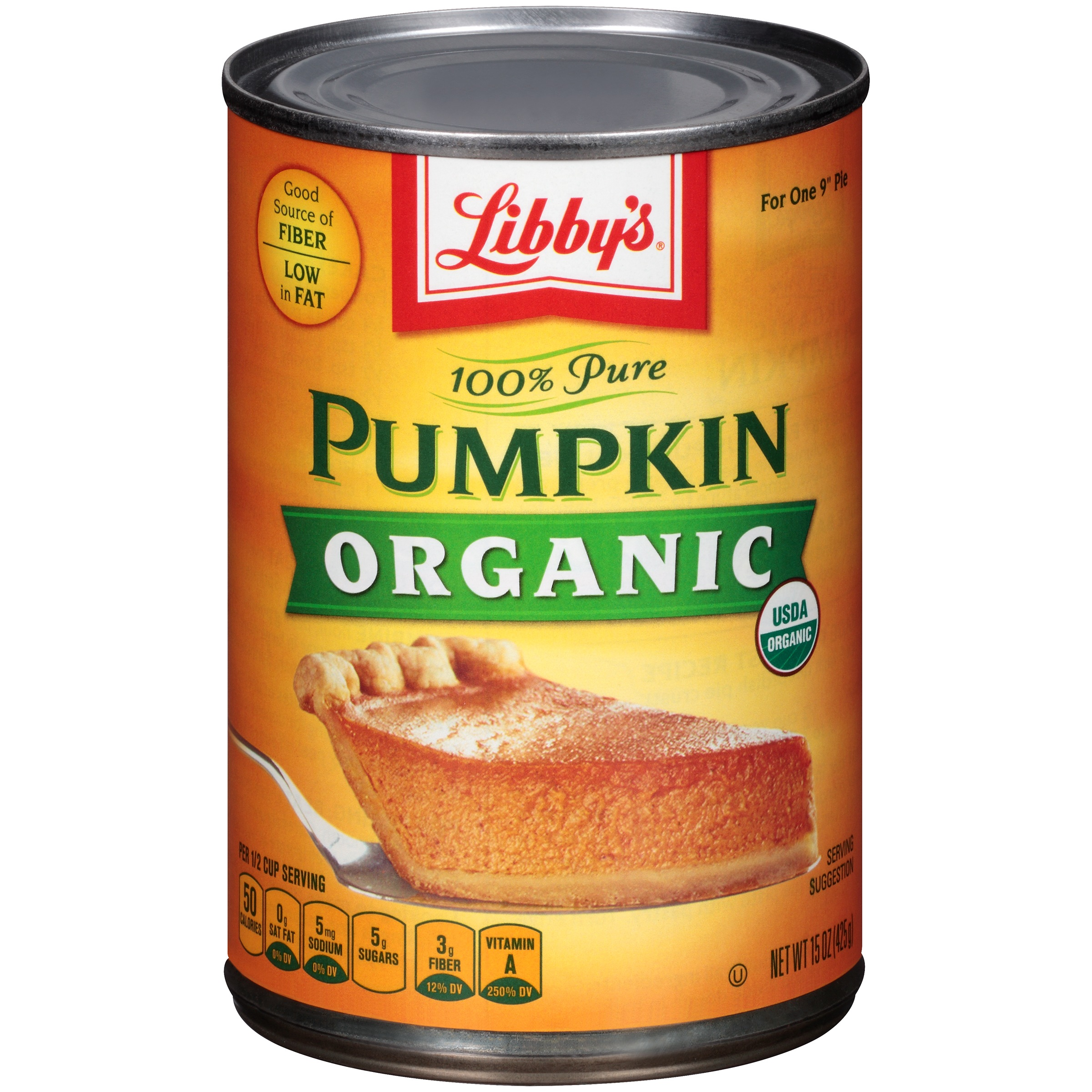 (3 Pack) LIBBY'S 100% Pure Organic Pumpkin 15 oz. Can