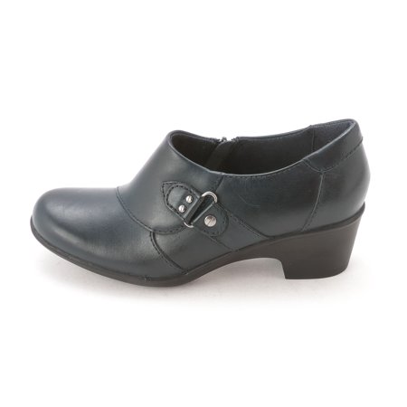 Womens Genette Harper Leather Closed Toe Clogs