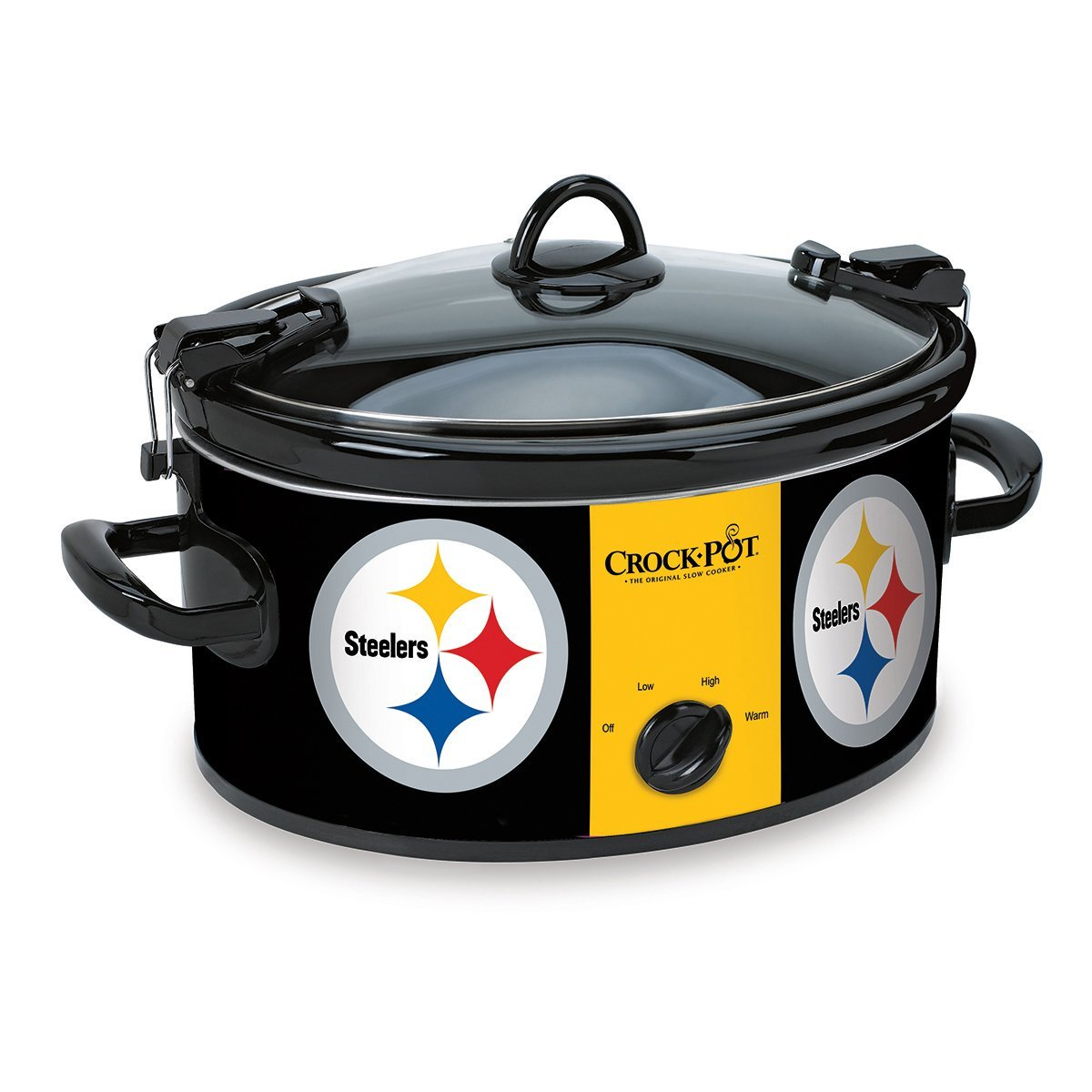 Exceptionnel Crock Pot 6 Quart Cook U0026 Carry Slow Cooker, Pittsburgh Steelers  (SCCPNFL600 PS)   Walmart.com