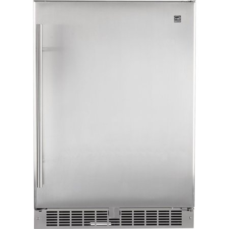 """Image of """"Napoleon NFR055OU Stainless Steel 24"""""""" Wide Built-In Outdoor Refrigerator"""""""