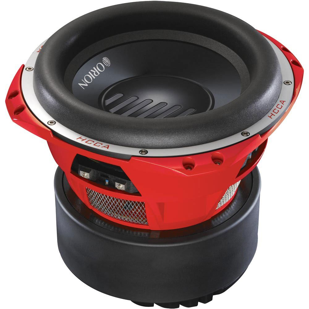 Orion HCCA124 12 Inch 5000 Watt Max Power Dual 4 Ohm Competition Subwoofer