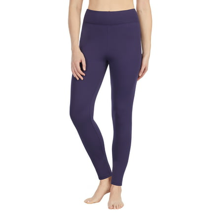 Women's thermal guard long underwear (Black Velour Thermal)