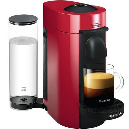 (Nespresso VertuoPlus Coffee and Espresso Maker by De'Longhi, Cherry Red)