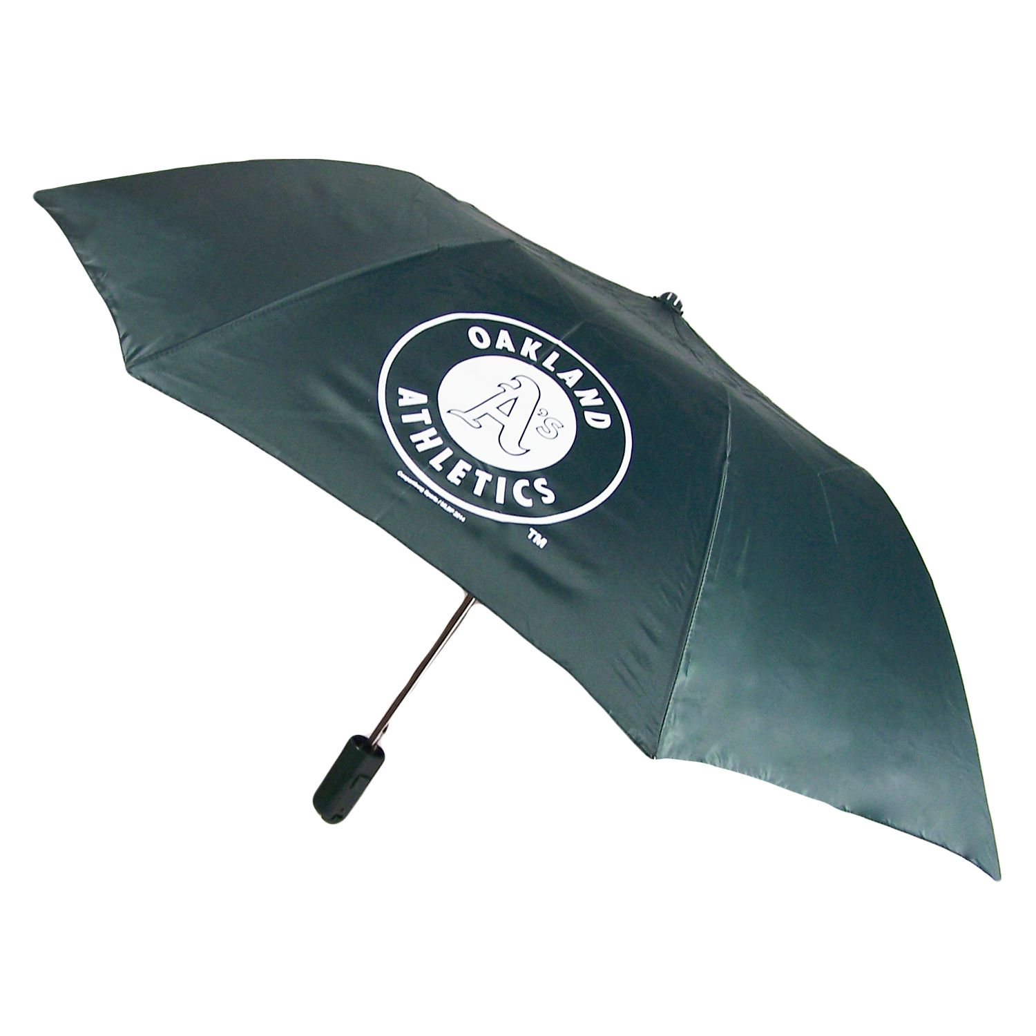 Oakland Athletics Official MLB Automatic Folding Umbrella Canopy by Coopersburg Sports 196998
