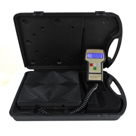 Zimtown Portable 220lbs Digital Electronic Refrigerant Charging Weight Scale for HVAC