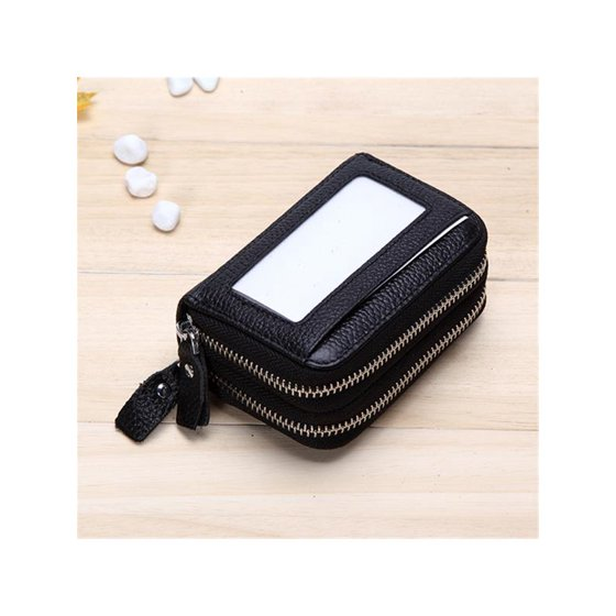 634b887d7f52c5 11 Colors Women RFID Wallet Coin Purse Card Holder Clutch Leather Handbag  Purse with 2 Money Pocket,11 Card Slots For Women Gifts - Walmart.com