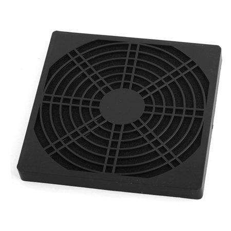 Unique Bargains Black Plastic Dustproof Filter 120mm PC Case Cooler Fan Dust Guard (120 Mm Fan Filter)