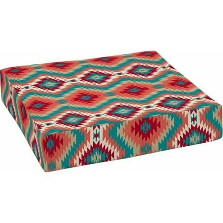 Mainstays Southwest 24 x 24 in. Outdoor Patio Deep Seat Bottom Cushion ()