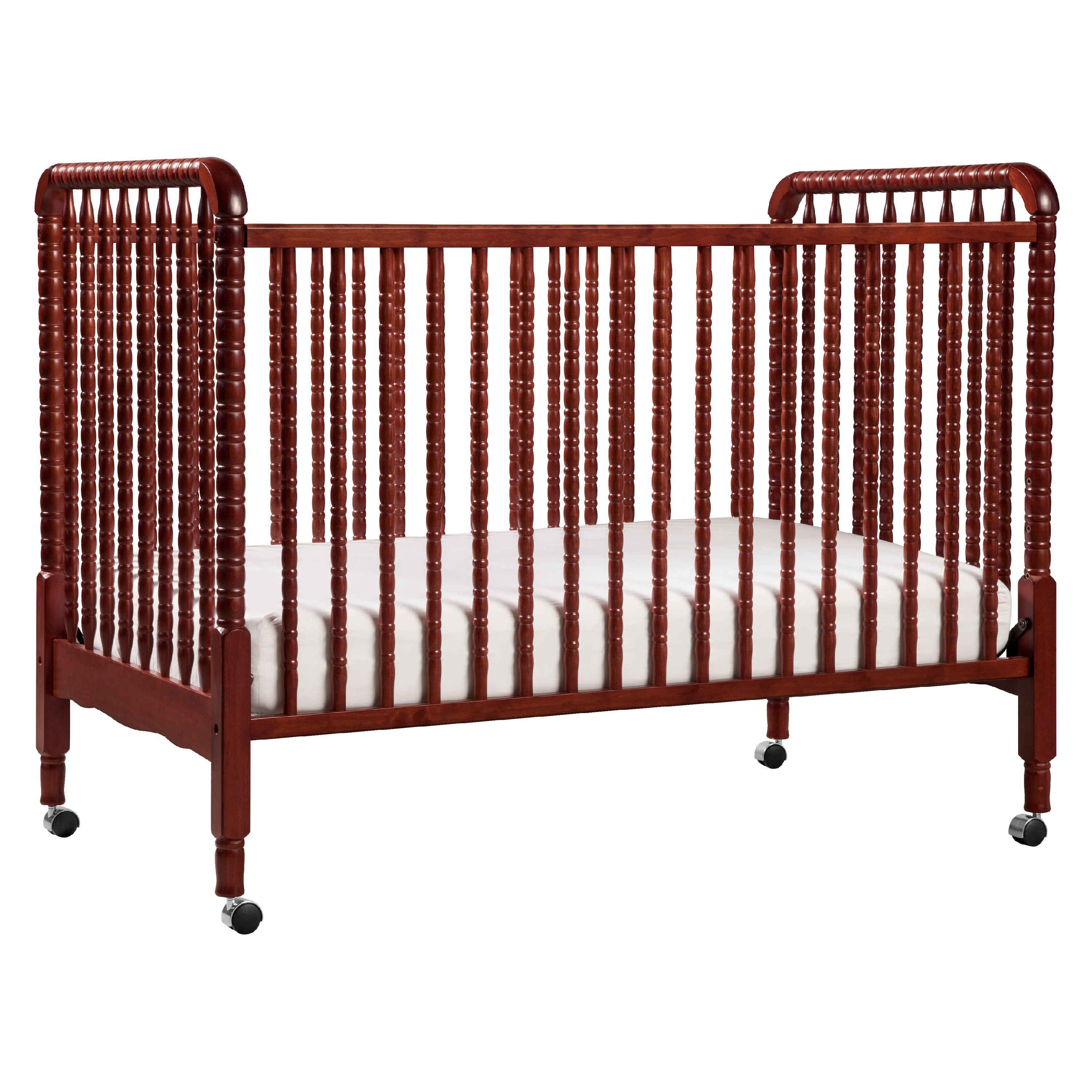 DaVinci Jenny Lind 3-in-1 Convertible Crib in Rich Cherry Finish by DaVinci Baby