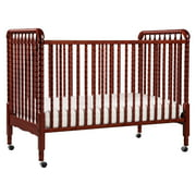 DaVinci Jenny Lind 3-in-1 Convertible Crib in Rich Cherry Finish