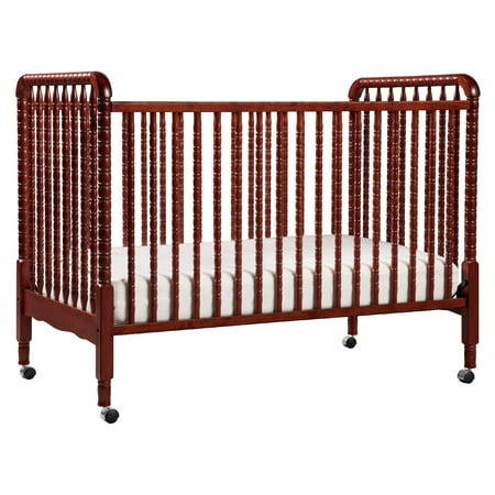 DaVinci Jenny Lind 3-in-1 Convertible Crib in Rich Cherry (Baby Crib Da Vinci Furniture)