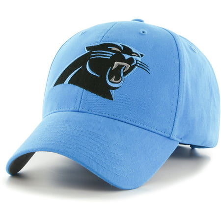 Men's Fan Favorite Blue Carolina Panthers Mass Basic Adjustable Hat -