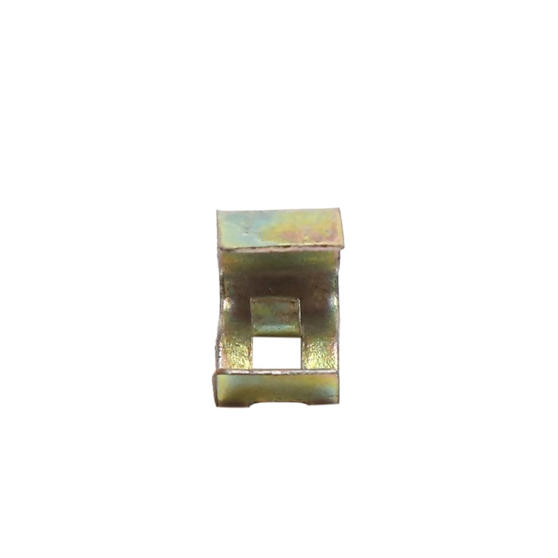 10Pcs 12mm Hole Metal Rivets Car Interior Dashboard Panel Trim Clips Retainer - image 1 de 4