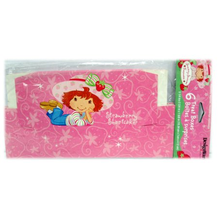 Strawberry Shortcake 'Bestfriends' Favor Boxes - Strawberry Boxes