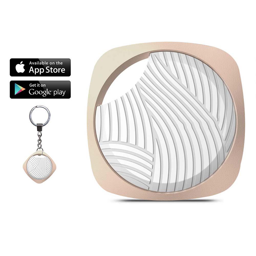 Promise by Honest Smart Key Finder Bluetooth WiFi Tracker GPS Locator Wallet Phone Key Anti-Lost Bidirectional Alarm Reminder Black