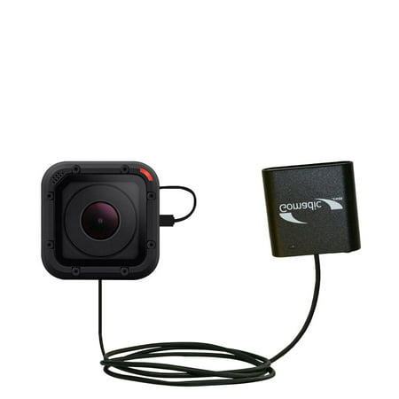 Portable Emergency AA Battery Charger Extender suitable for the GoPro HERO Session - with Gomadic Brand TipExchange