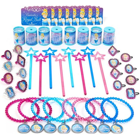 Disney Cinderella Sparkle Party Favor Value Pack - Cinderella Party Theme