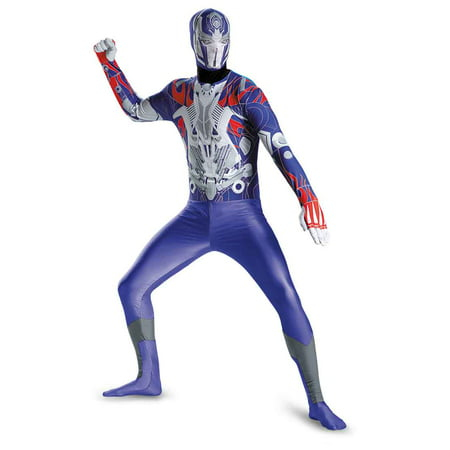 Optimus Prime Bodysuit Adult Costume - Transformers (50's To 80's Costumes)