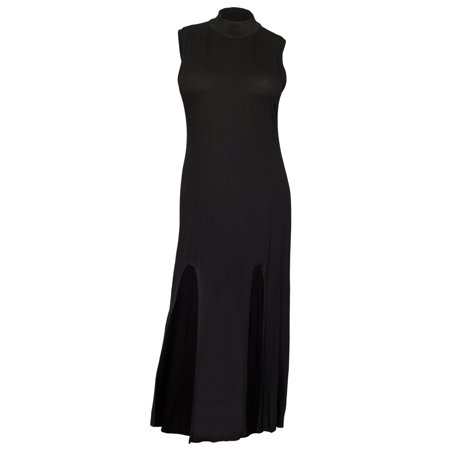eVogues Apparel - Plus size Sleeveless Maxi Dress Black - Walmart.com
