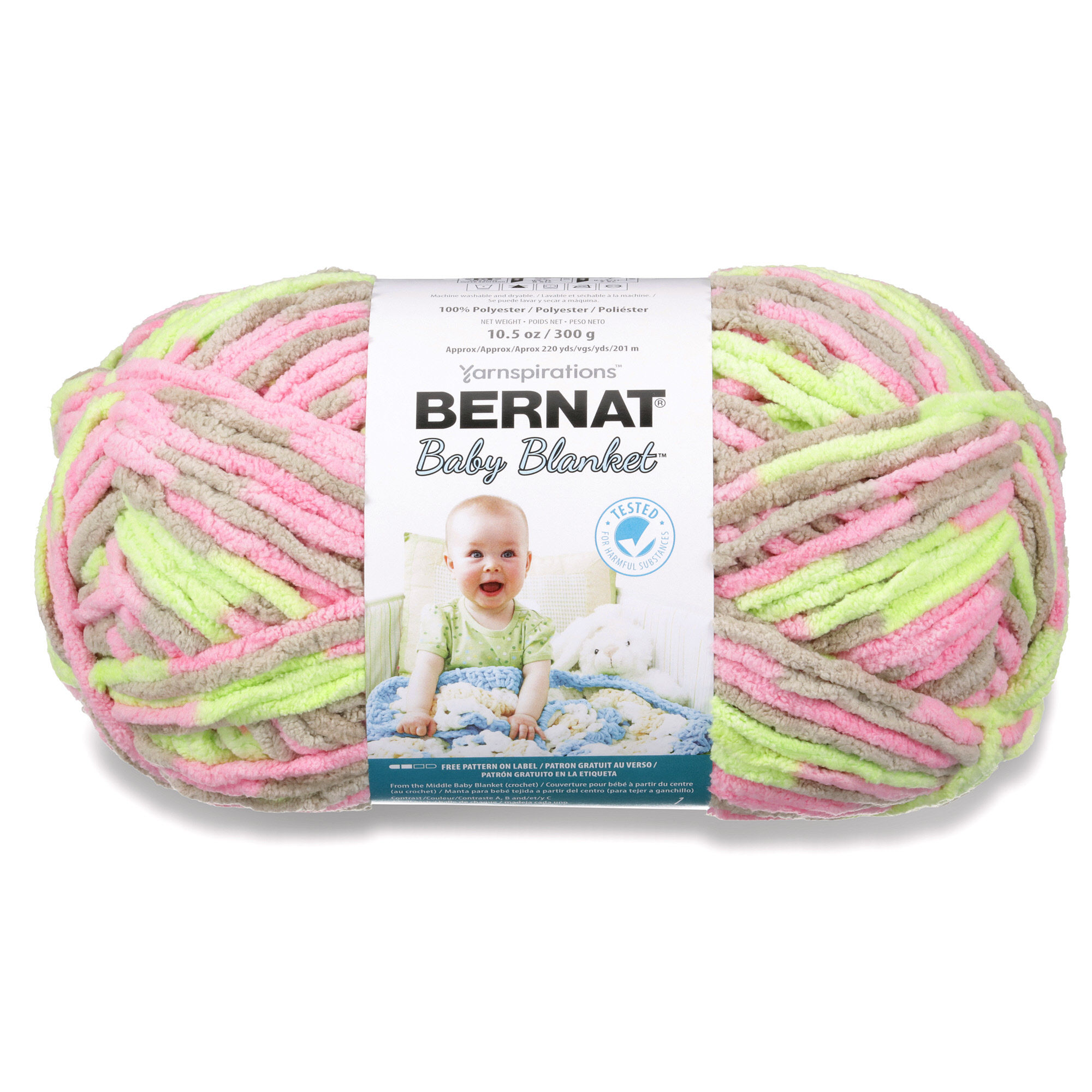 Bernat Baby Blanket Yarn, 300g, Little Boy Dove - Walmart.com