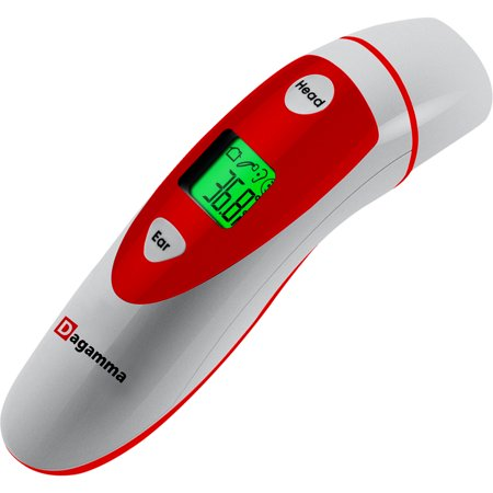 #1 Thermometer - Forehead and Ear functionality for Baby, Children & Adult - Authentic USA Approved Digital Thermometer by Dagamma (Adut Baby)