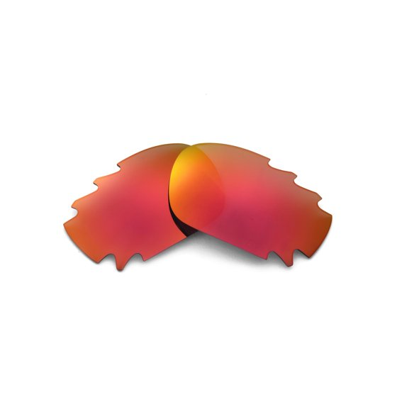 7ec73005d4 Walleva - Walleva Fire Red Polarized Vented Replacement Lenses for ...
