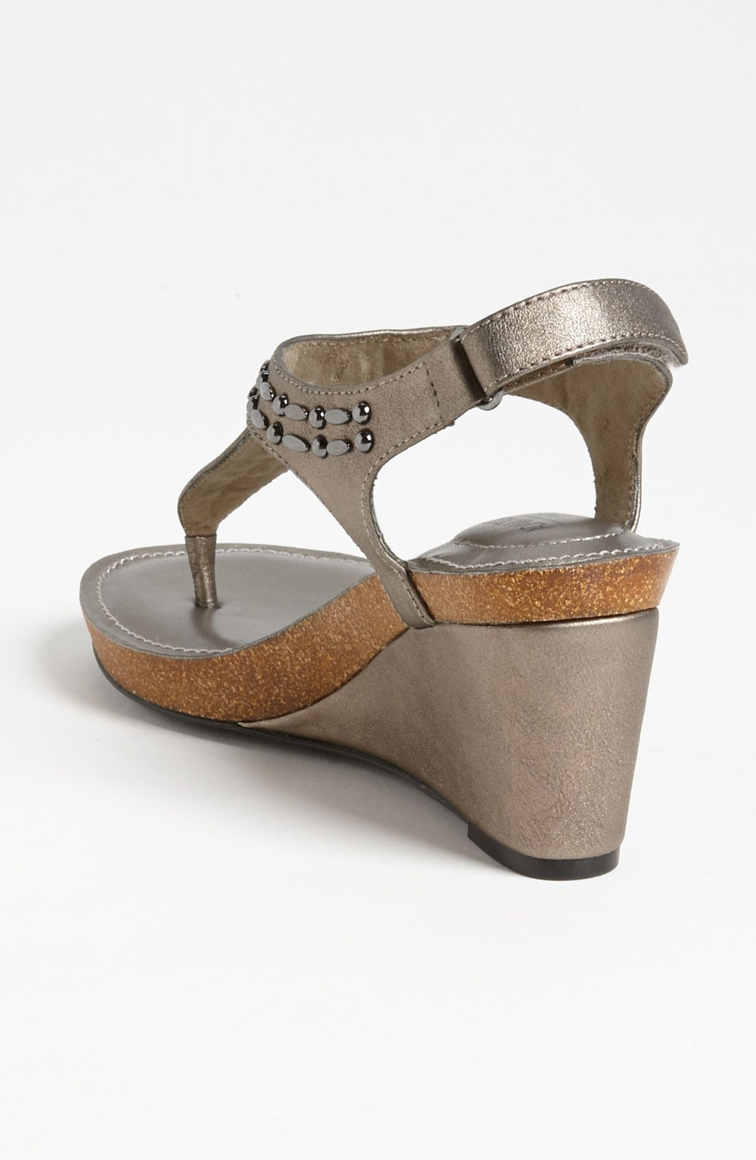 Me Too Womens Killian Leather Split Toe Casual T-Strap Sandals by Me Too
