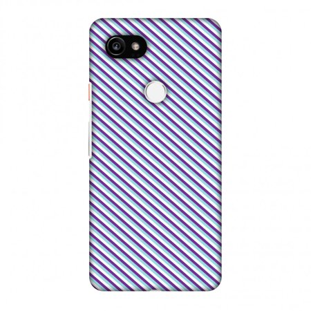 Google Pixel 2 Xl Case Hard Shell Protective Designer Case With Screen Cleaning Kit For Google Pixel 2 Xl  Checkered In Purple