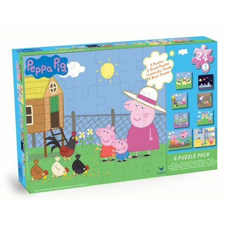 Peppa Pig 8-Pack Puzzle Box Only $6.82