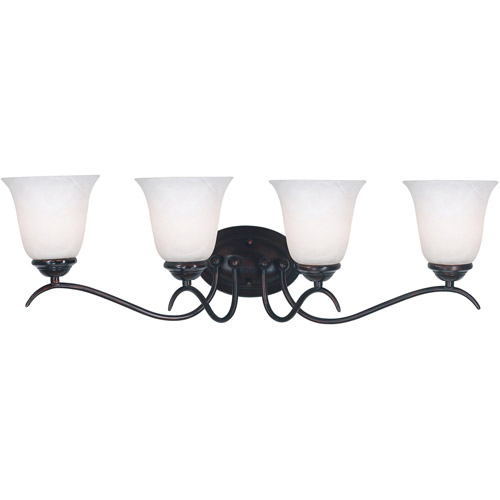 Kenroy Home Medusa 4-Light Vanity, Oil Rubbed Bronze
