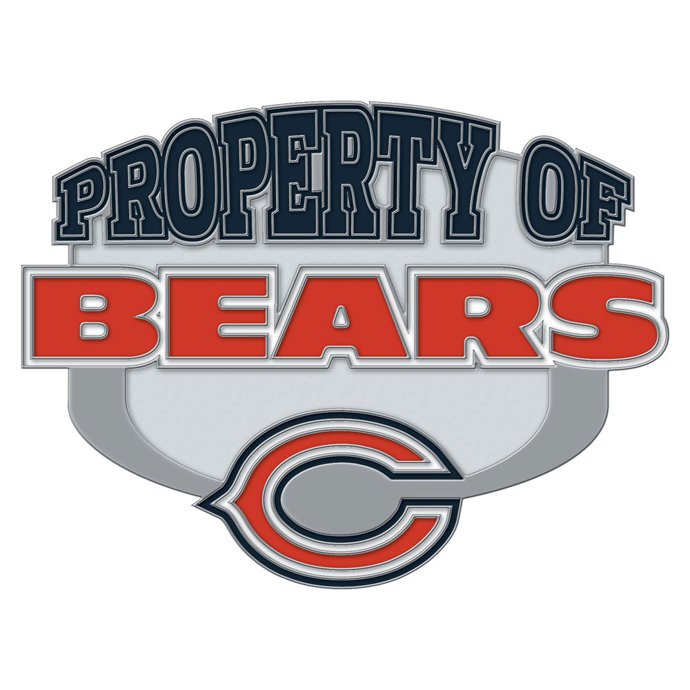 Chicago Bears Official NFL 1 inch  Lapel Pin by Wincraft